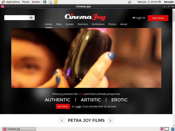Cinemajoy.com Password Premium