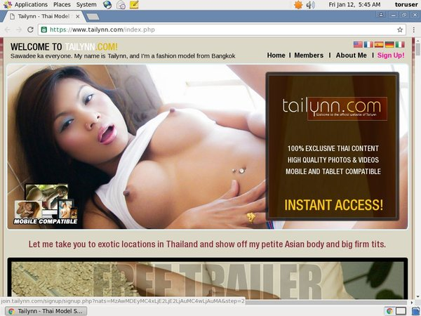 Tailynn Password Hack
