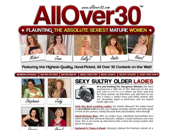 Allover30 Credits