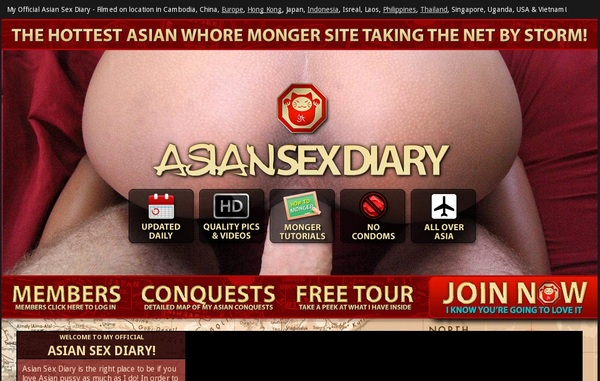 Asiansexdiary Passworter